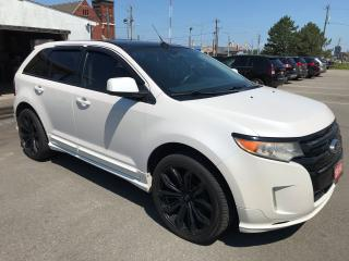 Used 2011 Ford Edge Sport ** AWD, NAV , BACKUP CAM, AUTOSTART ** for sale in St Catharines, ON