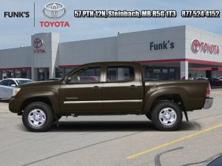 Used 2013 Toyota Tacoma 4WD DOUBLE CAB V6 AU for sale in Steinbach, MB