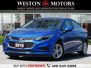 Used 2016 Chevrolet Cruze LT*REVERSE CAMERA*SUNROOF* for sale in Toronto, ON