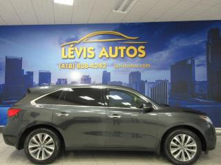 Used 2016 Acura MDX TECHNOLOGY 7 PASSAGERS SH-AWD AIR CLIM B for sale in Lévis, QC