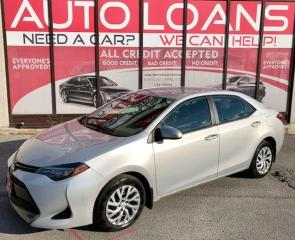 Used 2018 Toyota Corolla LE-ALL CREDIT ACCEPTED for sale in Toronto, ON