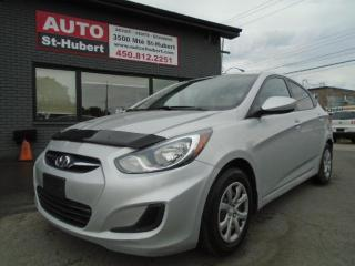 Used 2012 Hyundai Accent L for sale in St-Hubert, QC