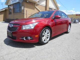 Used 2013 Chevrolet Cruze LT Turbo RS Loaded Leather Certified 162,000Km for sale in Rexdale, ON