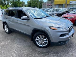 Used 2015 Jeep Cherokee LIMITED/ 4WD/ NAVI/ CAM/ LEATHER/ ALLOYS/ PWR SEAT for sale in Scarborough, ON