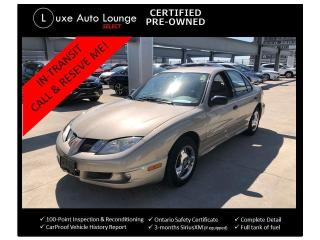 Used 2004 Pontiac Sunfire SLX - AUTO, LOW KM, A/C, POWER GROUP, for sale in Orleans, ON