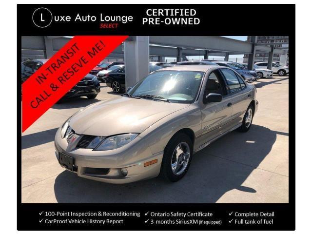 2004 Pontiac Sunfire SLX - AUTO, LOW KM, A/C, POWER GROUP,