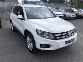 Used 2016 Volkswagen Tiguan COMFORTLINE 4MOTION CUIR TOIT PANO CAMER for sale in St-Hubert, QC
