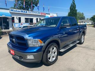 Used 2011 RAM 1500 OUTDOORSMAN-HEMI-4X4-ACCIDENT FREE for sale in Stoney Creek, ON