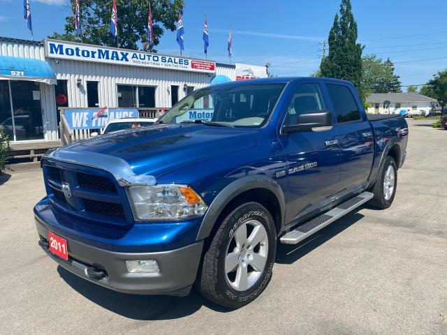 2011 RAM 1500 OUTDOORSMAN-HEMI-4X4-ACCIDENT FREE