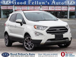 Used 2018 Ford EcoSport TITANIUM, LEATHER SEATS, SUNROOF, REARVIEW CAMERA for sale in Toronto, ON