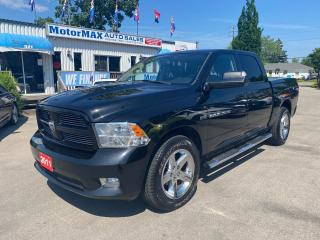Used 2011 RAM 1500 SPORT-4x4-ACCIDENT FREE for sale in Stoney Creek, ON