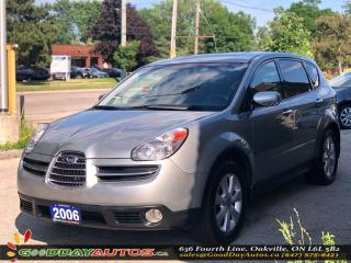 Used 2006 Subaru B9 Tribeca Ltd Navi|LOW KM|NO ACCIDENT|SUNROOF|AWD|CERTIFIED for sale in Oakville, ON