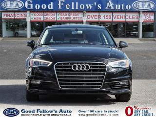 Used 2016 Audi A3 POWER SUNROOF, LEATHER SEATS, POWER & HEATED SEATS for sale in Toronto, ON