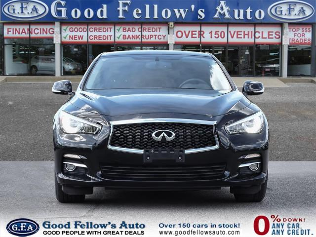 2016 Infiniti Q50 AWD, POWER SEATS, MEMORY SEATS, NAVIGATION, 4CYL