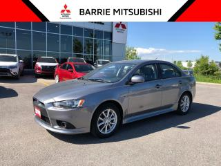 Used 2015 Mitsubishi Lancer SE for sale in Barrie, ON