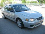 Photo of Silver 2001 Toyota Corolla