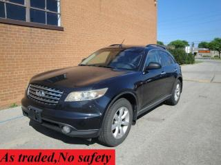 Used 2005 Infiniti FX35 LEATHER /SUNROOF / for sale in Oakville, ON