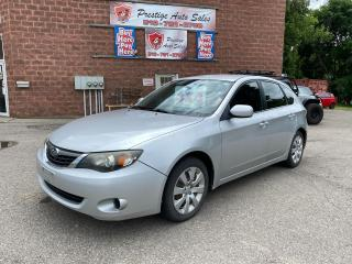 Used 2009 Subaru Impreza 2.5L/AWD/NO ACCIDENT/SAFETY+WARRANTY INCLUDED for sale in Cambridge, ON