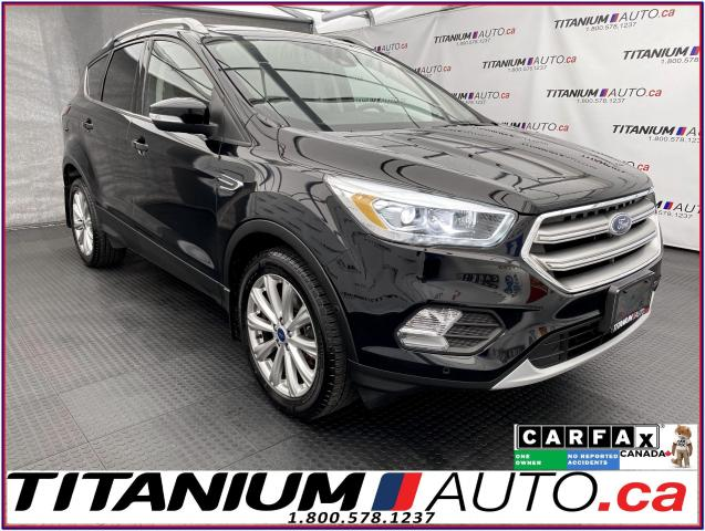 2017 Ford Escape Titanium+4WD+GPS+Pano Roof+LDW+BSM+Camera+Leather+