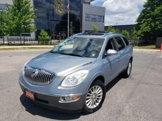 Used 2008 Buick Enclave DVD,7 Pass, Leather,Sunroof, Warranty avail for sale in Toronto, ON