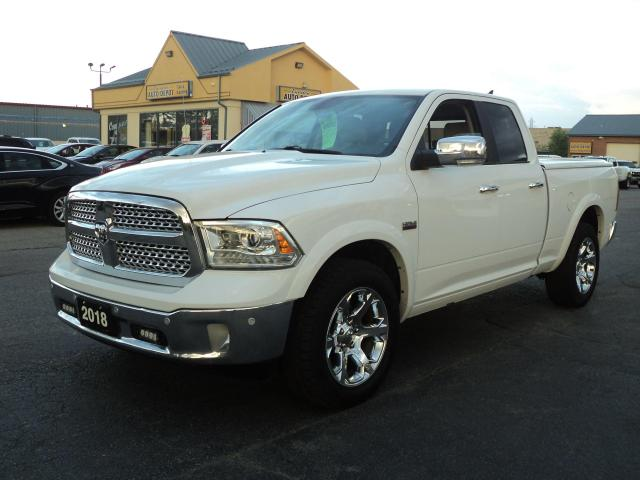 2018 RAM 1500 Laramie QuadCab 4x4 5.7L 6.5ft Box