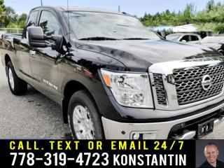 Used 2018 Nissan Titan SV King Premium Pkg TOW UP TO 9720 lbs!!!! 4x4 King Cab 6.6 ft. box 139.8 in. WB SV (A7) for sale in Maple Ridge, BC