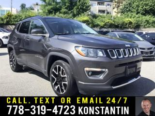 Used 2019 Jeep Compass Limited - Navigation - Leather Seats for sale in Maple Ridge, BC