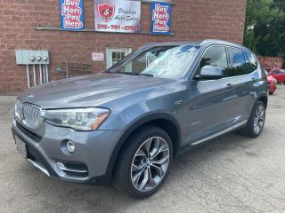 Used 2015 BMW X3 xDrive28d/AWD/DIESEL/SAFETY+WARRANTY INCLUDED for sale in Cambridge, ON
