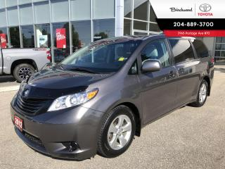 Used 2012 Toyota Sienna CE 7-Passenger for sale in Winnipeg, MB