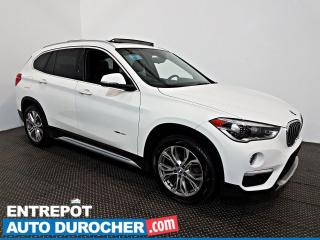 Used 2017 BMW X1 XDrive28i AWD TOIT OUVRANT - A/C - Caméra de Recul for sale in Laval, QC