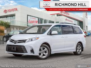 New 2020 Toyota Sienna LE 8-Pass V6 for sale in Richmond Hill, ON