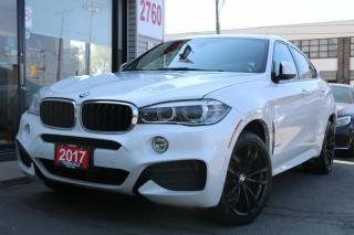 Used 2017 BMW X6 xDrive35i, Red Int, M-Sport, HUD, Navi, HarmanKardon Sound, for sale in North York, ON