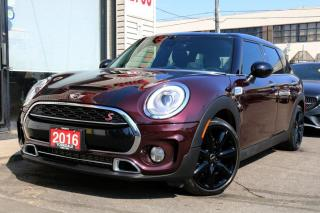 Used 2016 MINI Cooper Clubman S, Navi, Camera, PanoRoof, Fully Loaded, Rare Color Combo for sale in North York, ON