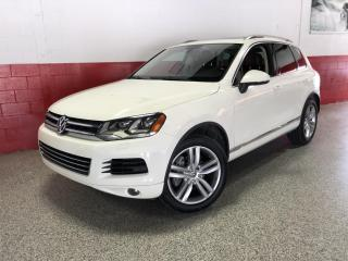 Used 2012 Volkswagen Touareg TDI EXECLINE NAVIGATION PANO-ROOF BLUETOOTH POWER TAILGATE for sale in North York, ON