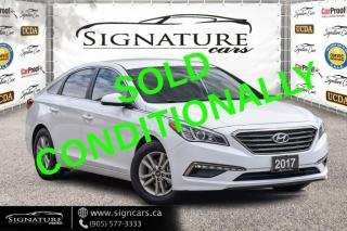 Used 2017 Hyundai Sonata NEW TIRES .NEW BRAKES ALL AROUND.CLEAN CARFAX REPORT for sale in Mississauga, ON