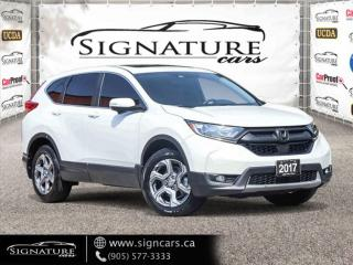 Used 2017 Honda CR-V AWD EX-L.  ONE OWNER. NO ACCIDENT. CLEAN CARFAX. for sale in Mississauga, ON