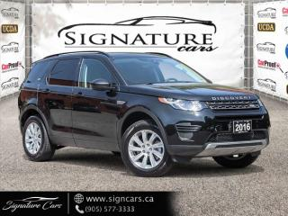 Used 2016 Land Rover Discovery Sport AWD SE. 7 PASSENGER. NO ACCIDENT. NAVI. PANO ROOF. for sale in Mississauga, ON