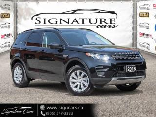 Used 2016 Land Rover Discovery Sport AWD 4DR SE for sale in Mississauga, ON