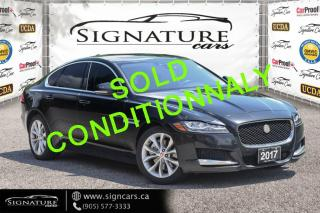 Used 2017 Jaguar XF 4dr Sdn 20d Premium, BLIND SPOT, HEATED SEATS/STEERING for sale in Mississauga, ON