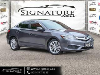 Used 2017 Acura ILX TECH PKG. NO ACCIDENT .LANE ASSIST. BLIND SPOT. NAVI for sale in Mississauga, ON