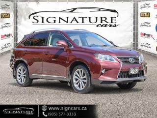 Used 2015 Lexus RX 350 CLEAN CARFAX BLIND SPOT NAVIGATION VENTILATED SEATS B CAM for sale in Mississauga, ON