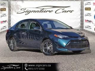 Used 2018 Toyota Corolla LE. AUTO.NO ACCIDENT. SUNROOF. BACK UP CAM. ALLOYS. HTD STS. for sale in Mississauga, ON