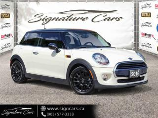 Used 2016 MINI Cooper Hardtop 3dr HB. ONE OWNER. NO ACCIDENT. PANO ROOF. for sale in Mississauga, ON
