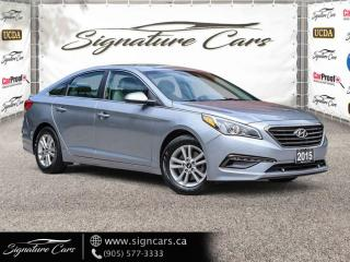 Used 2015 Hyundai Sonata 4dr Sdn 2.4L Auto. NO ACCIDENT. LOW KMS. for sale in Mississauga, ON