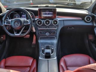 Used 2016 Mercedes-Benz C-Class C300 4MATIC. AMG PKG. RED INTERIOR. NO ACCIDENT. NAVIGATION. for sale in Mississauga, ON