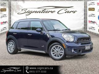 Used 2015 MINI Cooper Countryman S CLEAN CARFAX AWD LOW MILEAGE for sale in Mississauga, ON