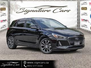 Used 2018 Hyundai Elantra GT GT GLS APPLE CARPLAY BLIND SPOT MONITORING PANORAMIC for sale in Mississauga, ON