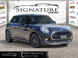 Used 2016 MINI Cooper Hardtop 3DR. AUTO. NO ACCIDENT. PANORAMIC ROOF. ESSENTIAL PKG. for sale in Mississauga, ON