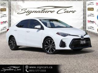 Used 2018 Toyota Corolla SE. AUTO. NO ACCIDENT. SUNROOF. LANE DEPT. ASSIST. for sale in Mississauga, ON