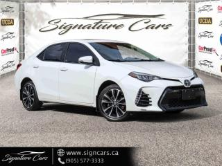 Used 2017 Toyota Corolla XSE. ONE OWNER. NO ACCIDENT. SUNROOF. LEATHER. BACK UP CAM. for sale in Mississauga, ON